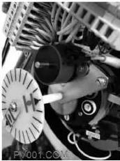 电站调节阀电位计实体图