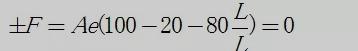 示例1:计算气动薄膜执行机构的输出力