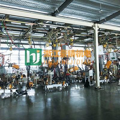 汽车坐椅调节支架点焊机焊接专机案例图片