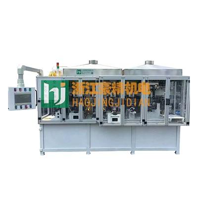 最新中频点焊机产品-汽车稳定连接杆焊机专机