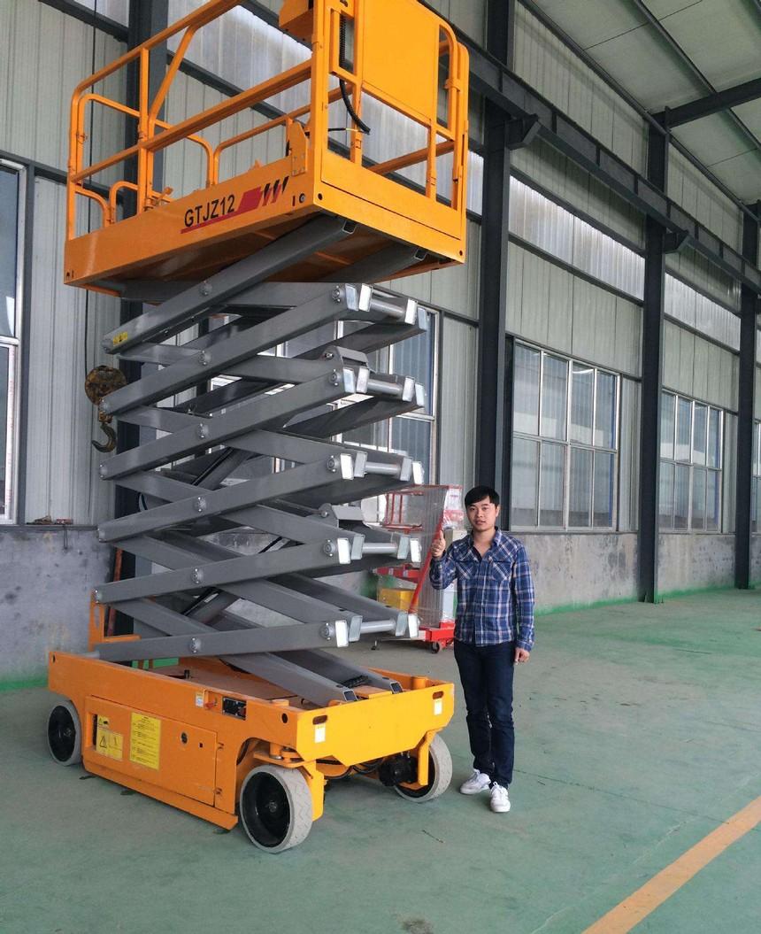 杭州升降机出租厂家