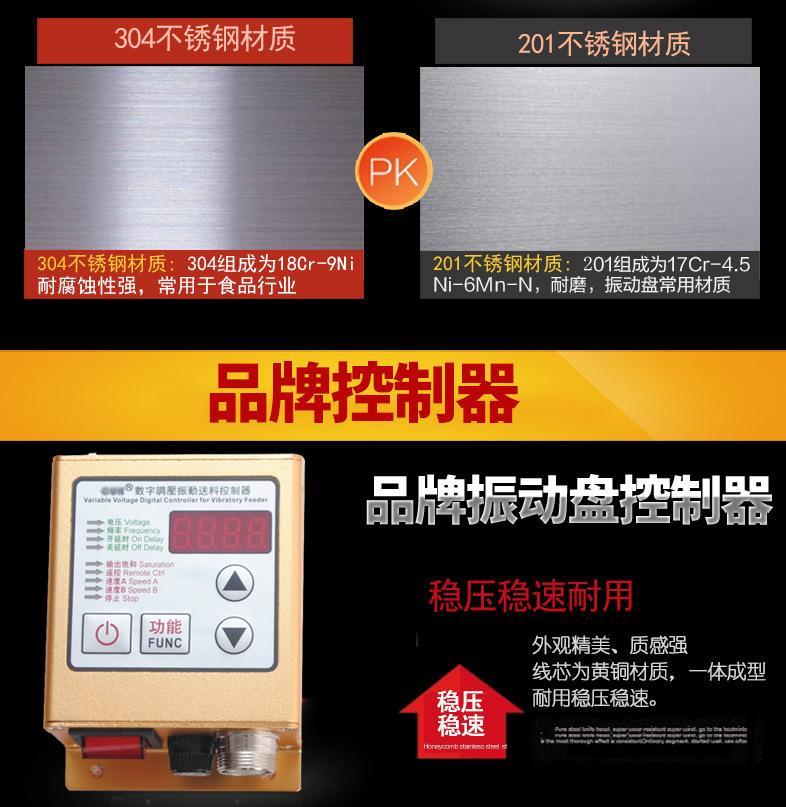 振动盘配件及材质