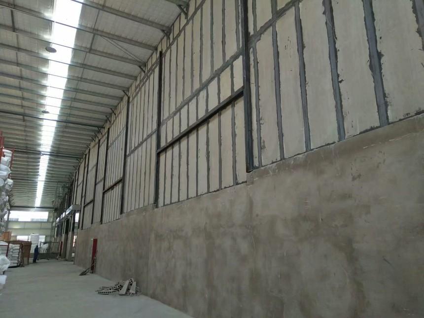 新型轻质隔板墙