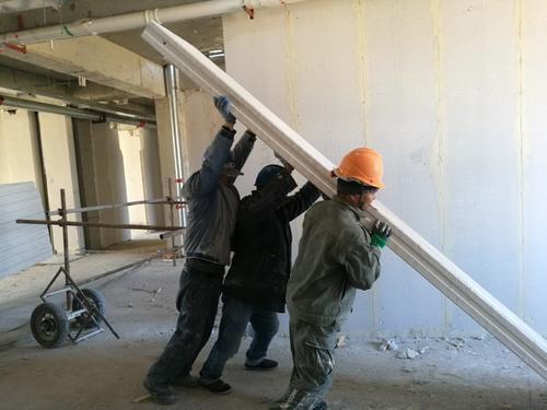 GRC轻质隔墙板施工——安装