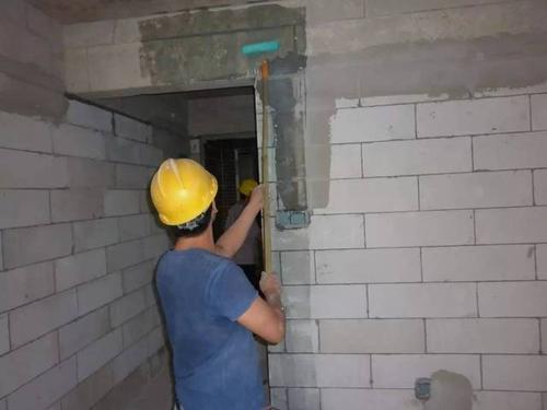GRC轻质隔墙板施工——灌浆、补浆