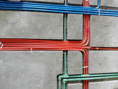 GRC轻质隔墙板——水管电路