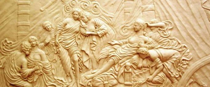 砂岩浮雕設計