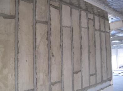 防火隔牆板