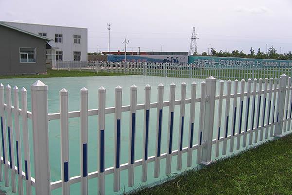 pvc草坪护栏