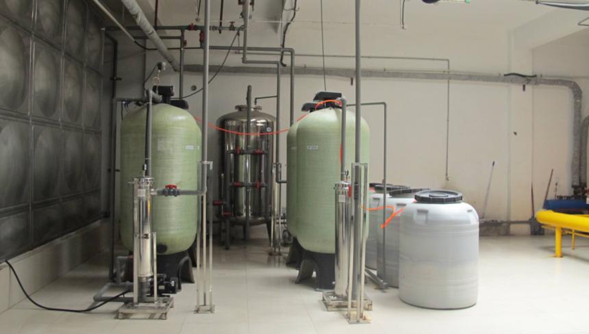 软化水设备运行工作