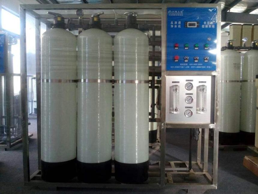 净水设备应用领域
