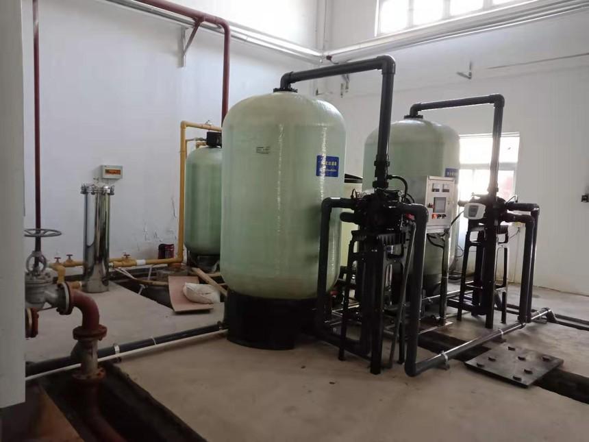 20吨锅炉软化水设备