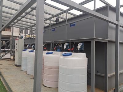 金属塑料废水设备