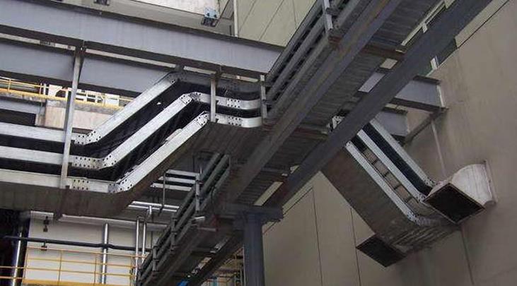 泰瑞安厂家与你分享电缆桥架施工过程中遇到的问题