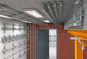 电缆桥架厂家与你分享电缆桥架有什么用途?它的有什么配件?