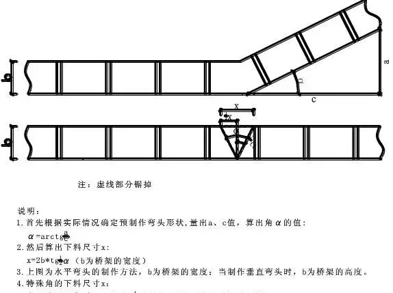 电缆桥架弯头图