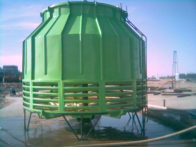 玻璃钢冷却塔结构形式及使用范围