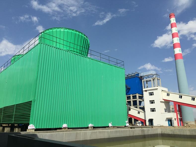 横流式闭式冷却塔