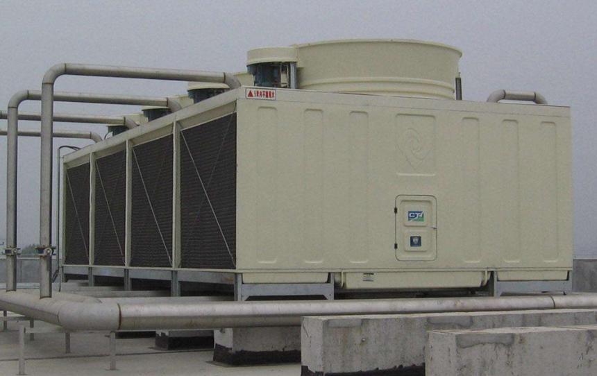 机械通风横流湿式冷却塔
