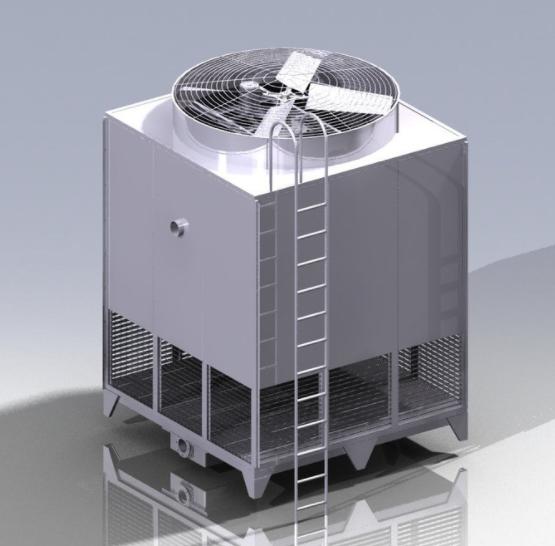 闭式冷却塔