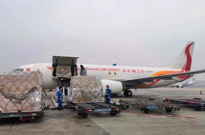 天津航空貨運快遞的產生和發展
