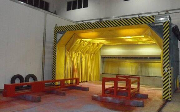 水帘式喷漆房