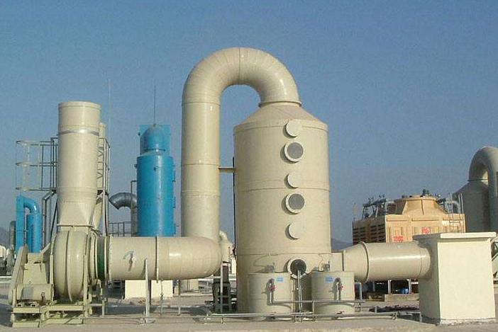 酸雾工业废气处理设备