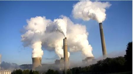 工业废气排放污染现象
