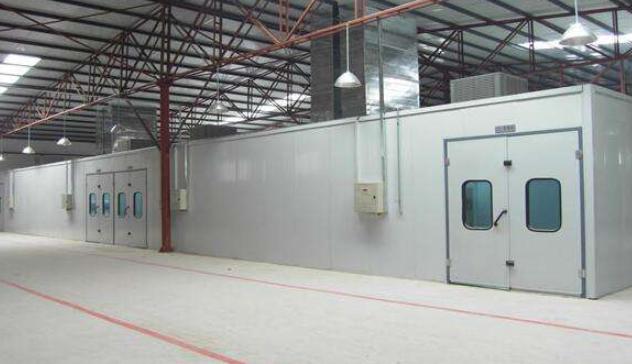 喷漆房的分类以及6种常见的喷漆房废气处理法