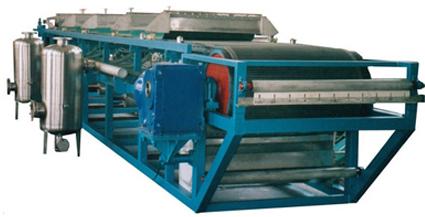 DU型橡胶带式真空过滤机