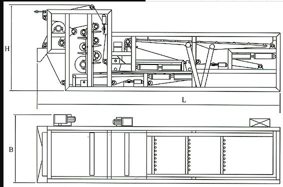 DY污泥脱水机主机安装外形