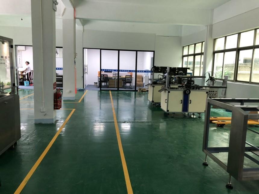可创机械厂房环境