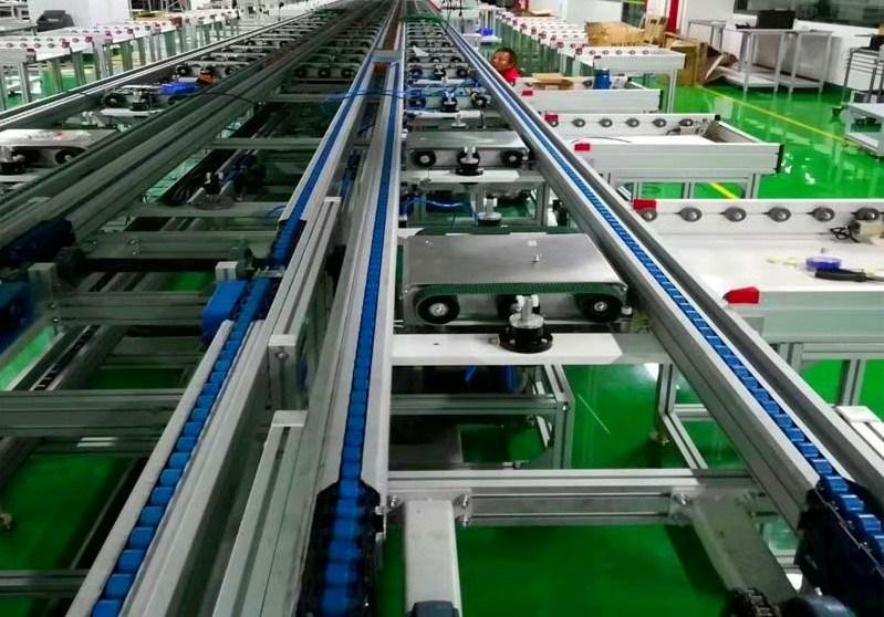 倍速链流水线在电子生产上的应用.jpg