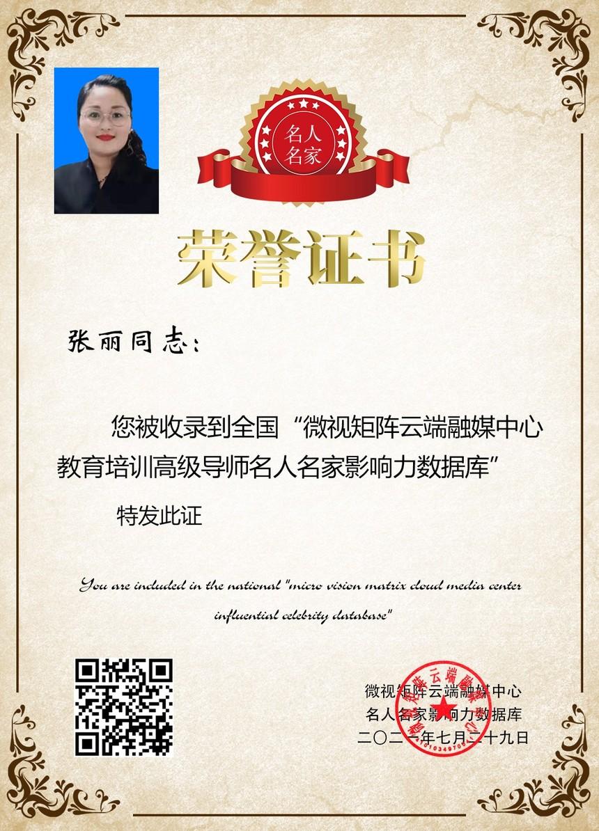 张丽荣誉证书微视矩阵.jpg