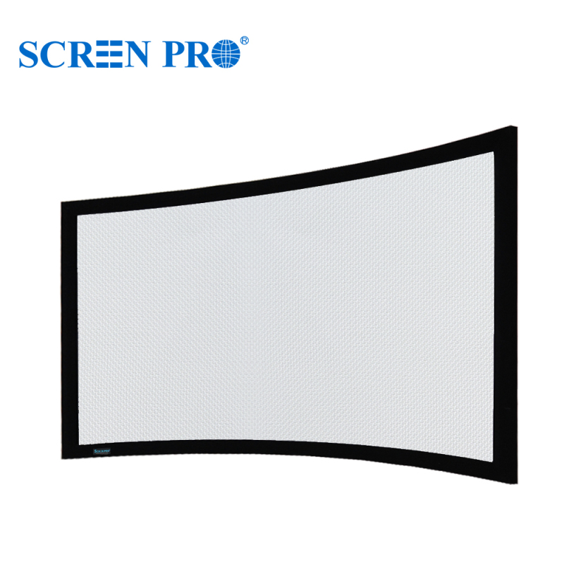 TW-Curved Fixed Frame Screen