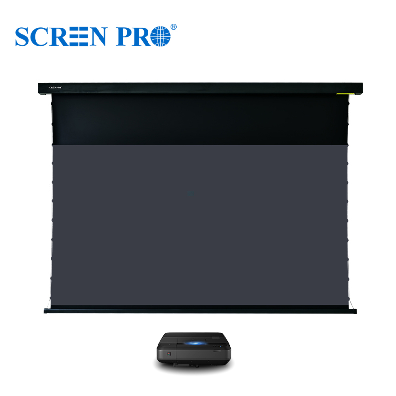 SP-Jampo Series Motorized ALR Screen For Ultra Short Throw Projectors