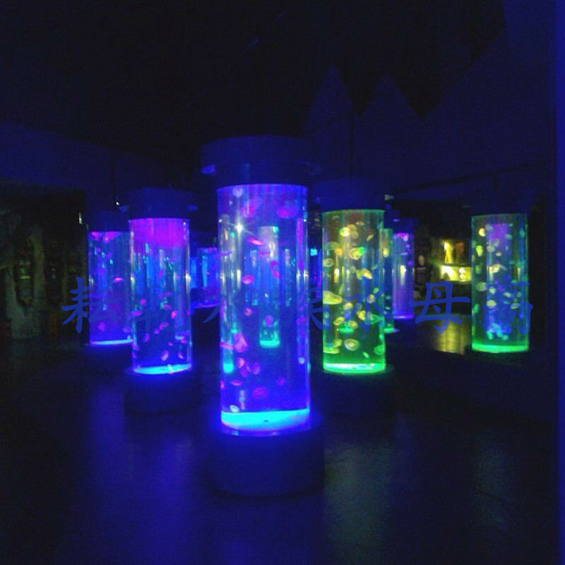 亚克力水母柱水母缸设计生产