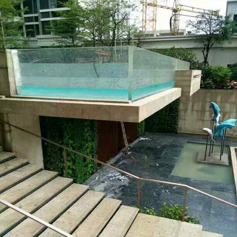 大型亚克力游泳池建设设计咨询13162356777