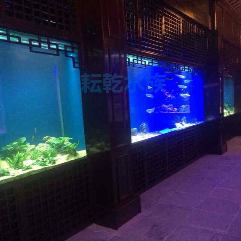 大型亚克力鱼缸定制厂家就找上海耘乾水族工程有限公司咨询13162356777