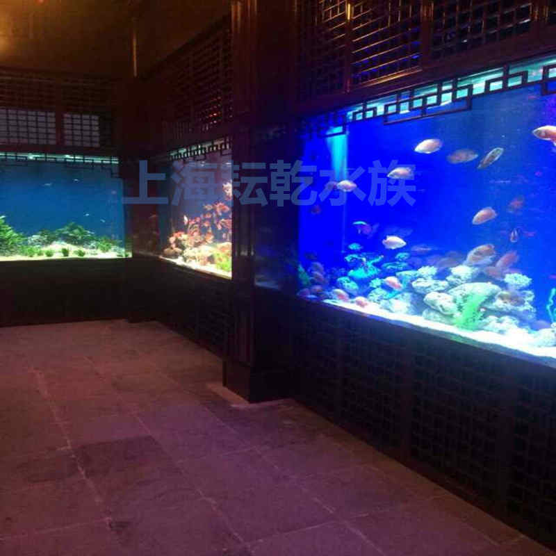 大型亚克力鱼缸定做厂家,就找上海耘乾水族工程有限公司咨询13162356777