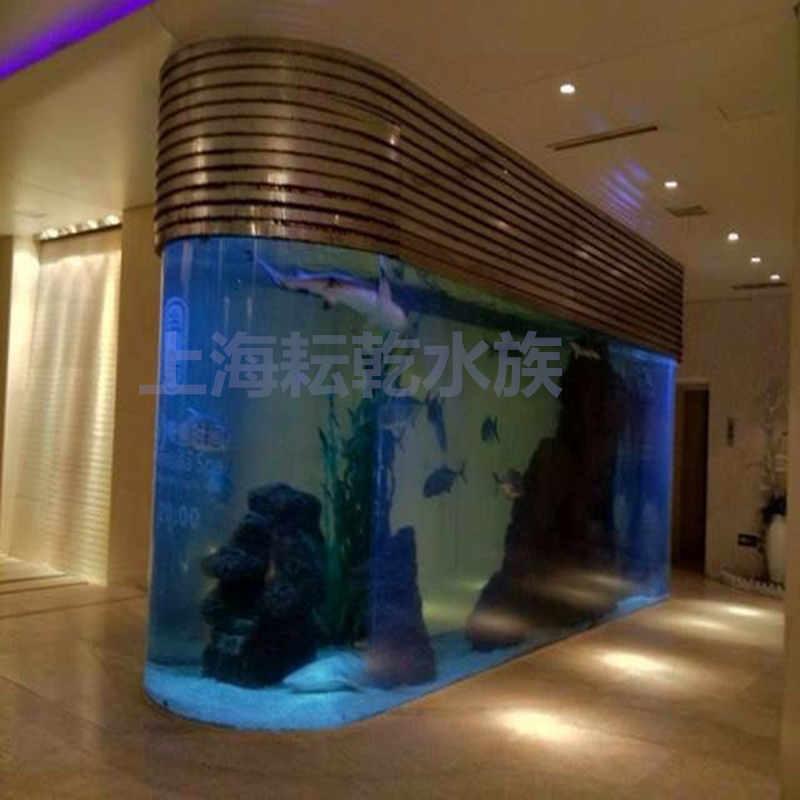 大型亚克力鱼缸定做厂家就找上海耘乾水族工程有限公司咨询13162356777