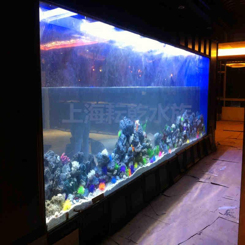 大型亚克力鱼缸定制养护就找上海耘乾水族工程有限公司咨询13162356777