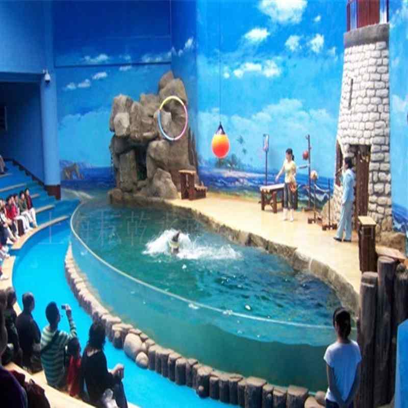 大型表演鱼缸亚克力板材销售就找上海耘乾水族工程有限公司咨询13162356777