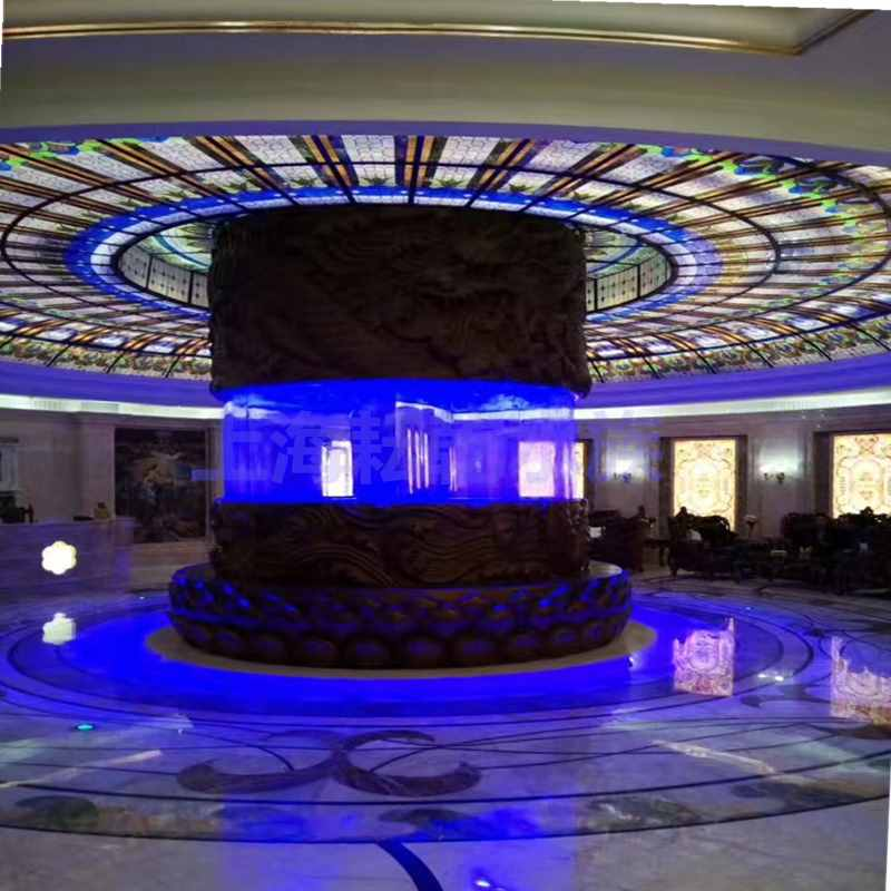大型亚克力鱼缸定制就找上海耘乾水族工程有限公司咨询13162356777
