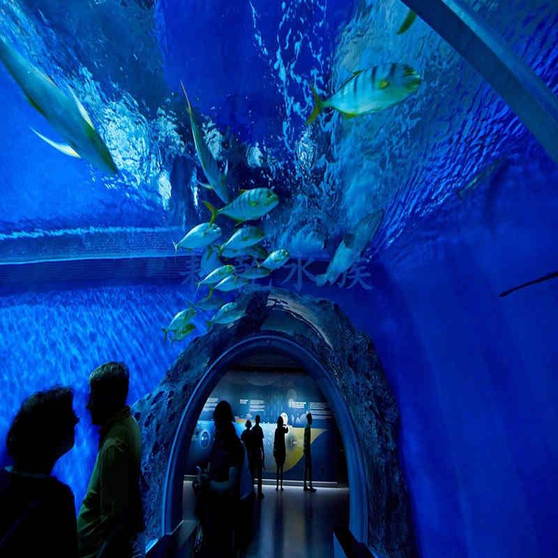 大型亚克力鱼缸定做亚克力厂家就找上海耘乾水族工程有限公司咨询13162356777