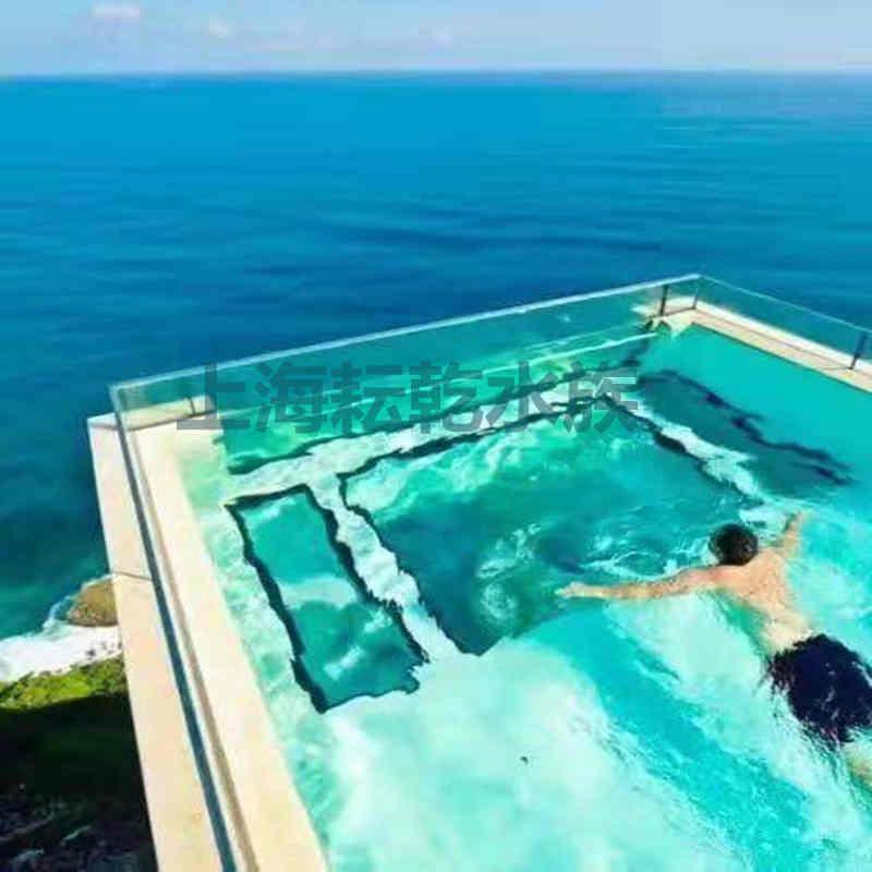 无边际泳池设计定制就找上海耘乾水族工程有限公司咨询13162356777