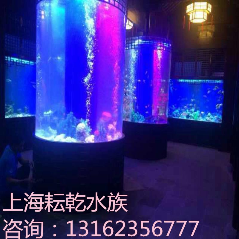 鱼缸定做,定制鱼缸就找上海耘乾水族工程有限公司咨询13162356777