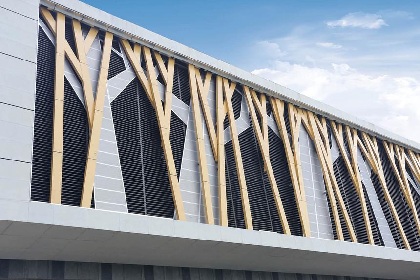 铝manbetx官网手机登陆建筑外墙装饰效果
