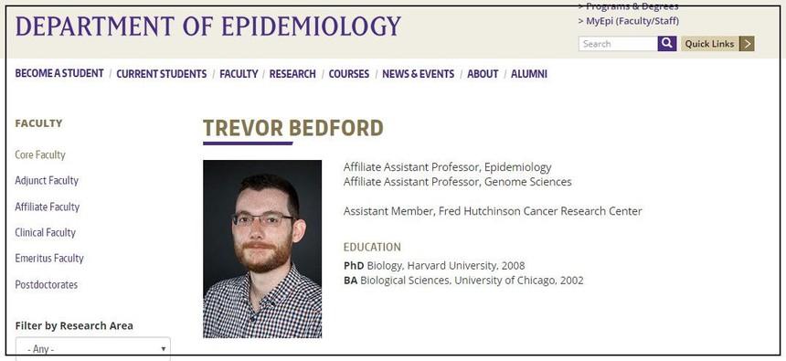 Trevor Bedford