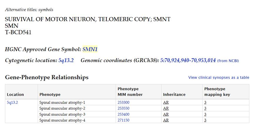 基因突变数据库